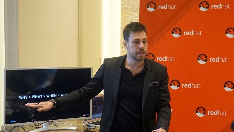 알레산드로 페릴리(Alessandro Perilli) 레드햇 클라우드 관리 전략 총괄 책임자