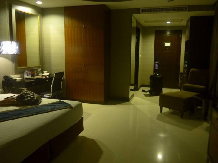 썰렁한 호텔방
