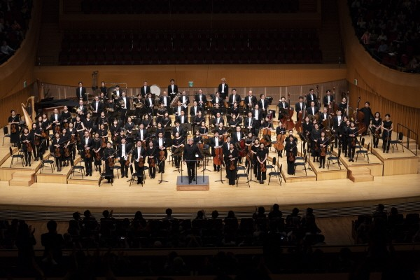 '서울시향2018 마르쿠스 슈텐츠의 말러 교향곡 제5번' 공연사진. 사진=서울시립교향악단 제공