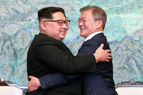 President Moon Jae-in and Supreme Leader Kim Jong-un