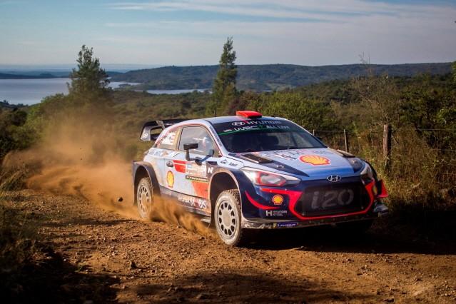 현대차, WRC 아르헨티나 랠리서 더블 포디움 달성