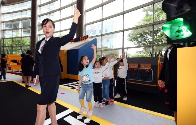 현대차, '로보카폴리와 함께하는 교통안전교실' 개최