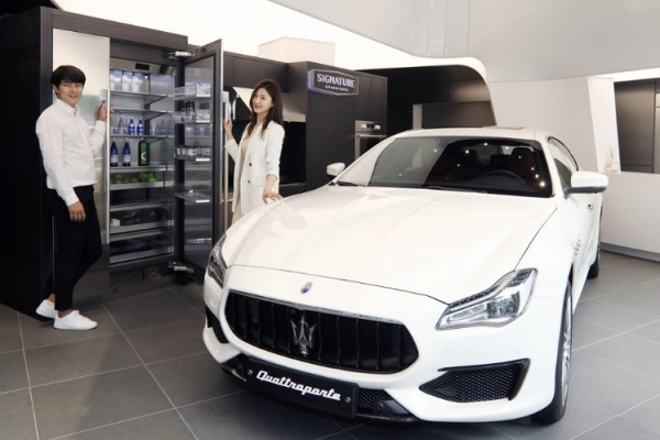 LG전자-마세라티, 超프리미엄 브랜드 공동 마케팅 펼친다