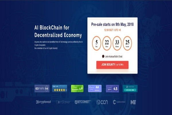 Presale of AI Crypto will start on the 9th.
