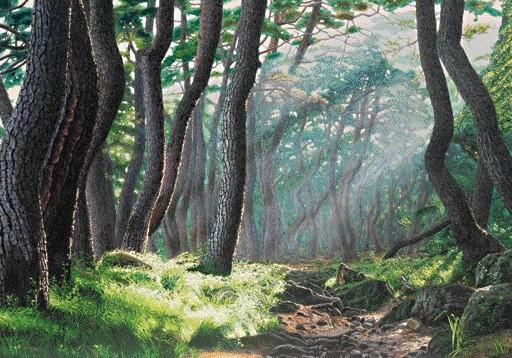 '호기심 - 1, 91×72.3cm, Oil on canvas, 2010'. 사진=이기옥 제공