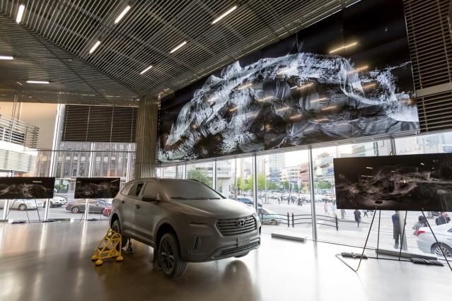 현대 모터스튜디오 서울, 첨단 3D 미술 작품 전시