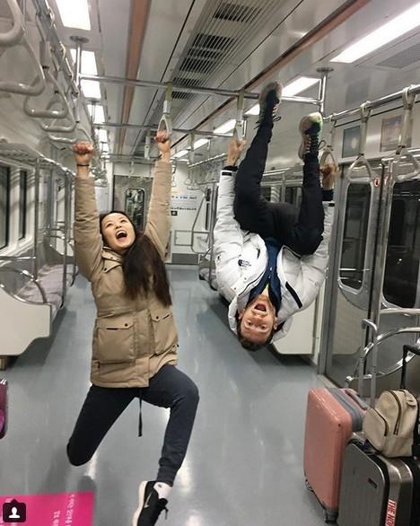 사진=민유라 피겨스케이팅 선수의 밝은 일상이 네티즌들 사이에서 화제다.