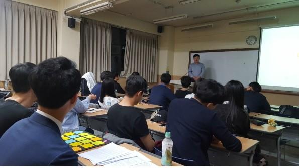 더와이파트너스, 숭실대학교에서 진행한 바른취업스쿨 5기 종료