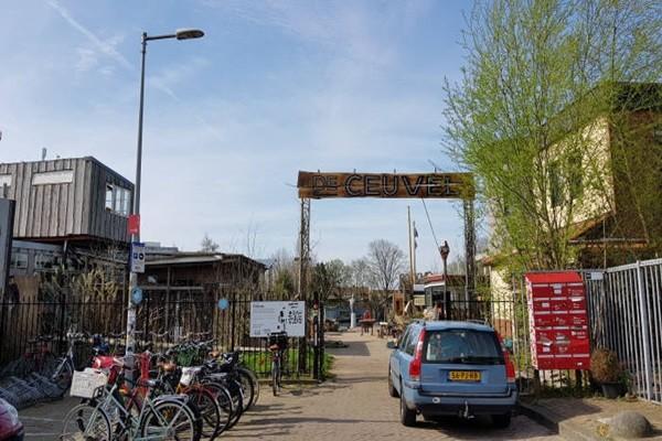 Entrance of De Ceuvel