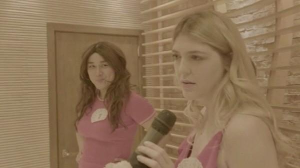 '낫베이직' 몰리(애슐란 준 분)와 외국인 참가자. 사진='낫베이직' 방송 캡처