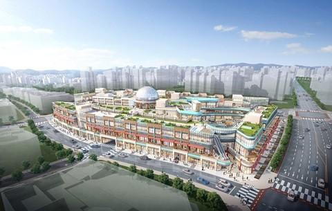 은계지구 상업시설 공급난 해결 '시흥 센트럴돔 그랑트리 캐슬' 분양 열기