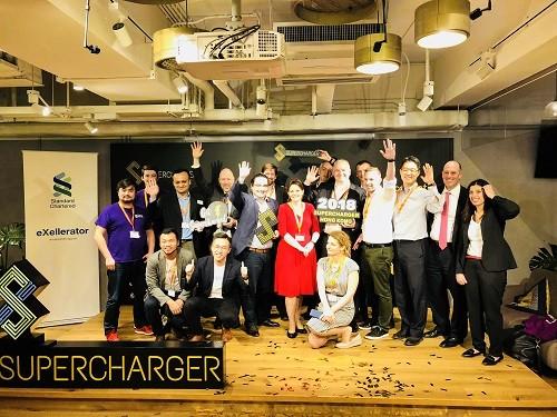 스탠다드차타드 홍콩 SuperCharger 2018 한국의 에이젠글로벌(AIZEN) 선정