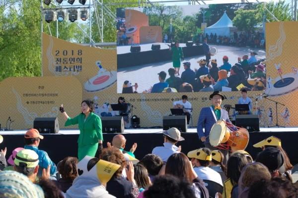 '신광대판놀음 : 전통연희·명품기예' 공연사진. 사진=전통공연예술진흥재단 제공