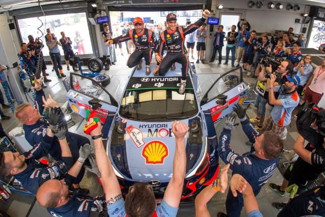 현대차, 2018 WRC(월드랠리챔피언십) 제조사 부문 선두 탈환