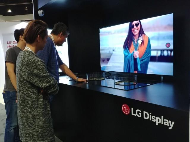 LG디스플레이 65인치 UHD Cystal Sound OLED