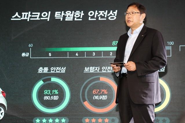 한국GM, 가격 인하한 쉐보레 뉴 스파크 투입