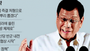 """두테르테 필리핀 대통령, 다음날 방한…""""신 남방정책 추진이 본 궤도에 오를 것으로 기대 된다"""""""