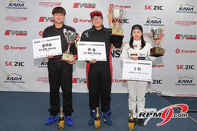 카라 드리프트 챔피언십 1전 슈퍼D B클래스 3위 강성미(이니셜D) 사진 황재원 기자