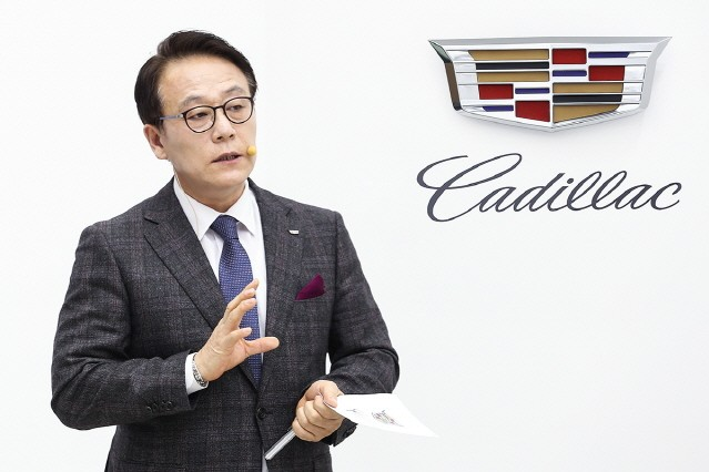"GM코리아 김영식 사장 ""7월에 캐딜락 하우스 서울 열겠다"""