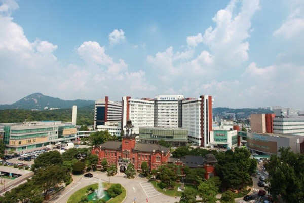 Panoramic view of Seoul National University Hospital