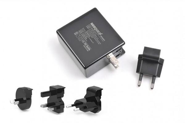 사진 = 아트뮤 USB-PD고속충전기 제품 및 교체형 플러그