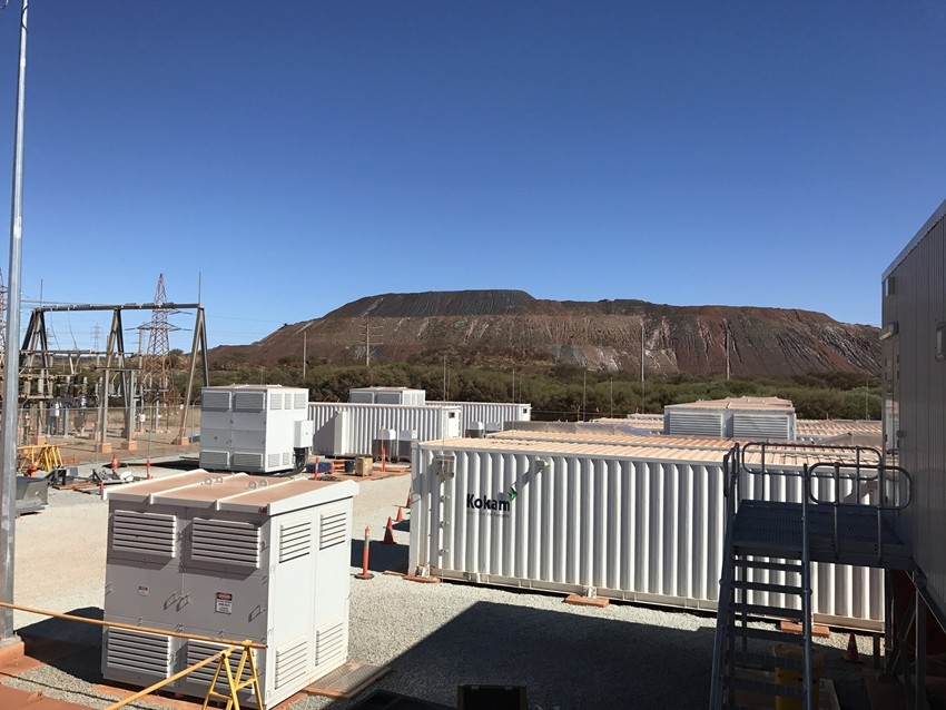 호주 알린타 에너지 설치된 코캄 ESS