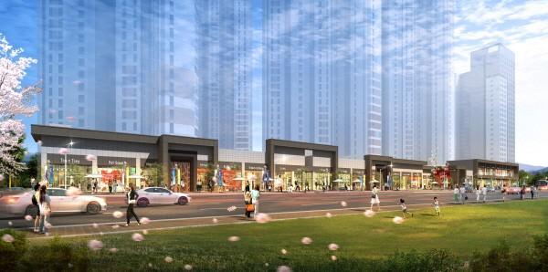KTX•1호선 광명역 초근접 상업시설 '자이스트릿' 들어선다