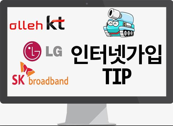 온라인 통해 SK·KT·LG 인터넷 가입하면 사은품이 다르다?