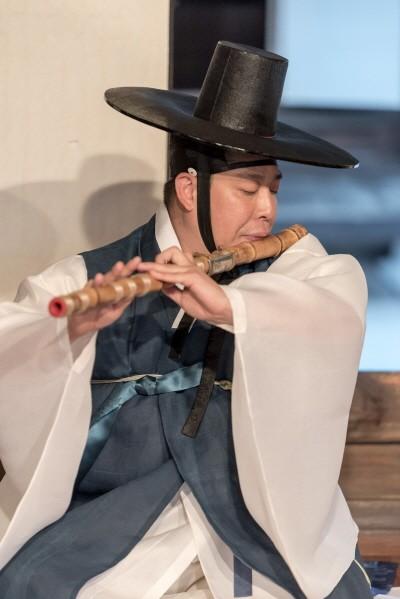 '대금 김선호' 공연사진. 사진=남산골한옥마을 서울남산국악당 제공