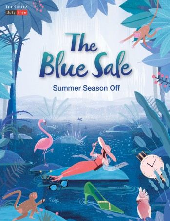 신라면세점은 여름 피서를 준비하는 고객을 위해 오는 7월 16일까지 온·오프라인에서 여름 정기세일인 '블루 세일'을 열고 '발리', '페라가모' 등 패션브랜드와 선글라스 브랜드를 최대 60% 할인한다. 사진=롯데면세점 제공