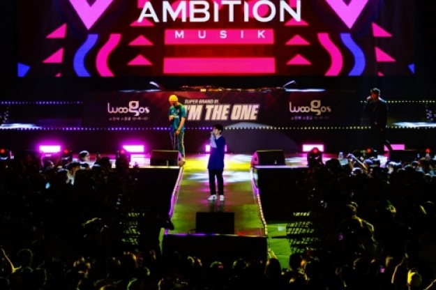 지난 1일, 쇼핑몰 `우고스`가 주최한 `슈퍼 브랜드 No1. <I`m THE ONE>` 힙합 콘서트가 성황리에 막을 내렸다고 11일 전했다. 사진=우고스 제공
