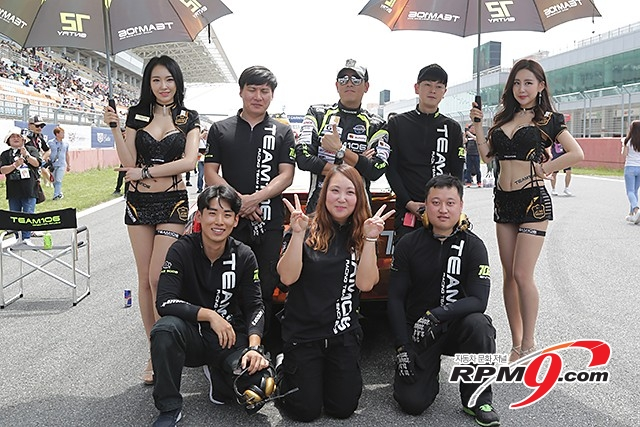 CJ대한통운 슈퍼레이스 챔피언십 3전 캐딜락 6000 결승 류시원 선수 (사진 황재원 기자)