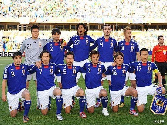 사진=일본 축구협회 공식 SNS 계정