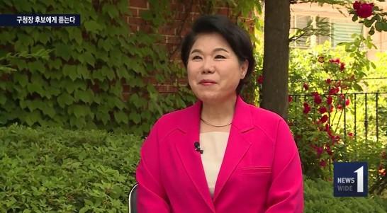 사진=조은희 자유한국당 후보가 6·13 지방선거에서 서울 서초구청장에 당선됐다.