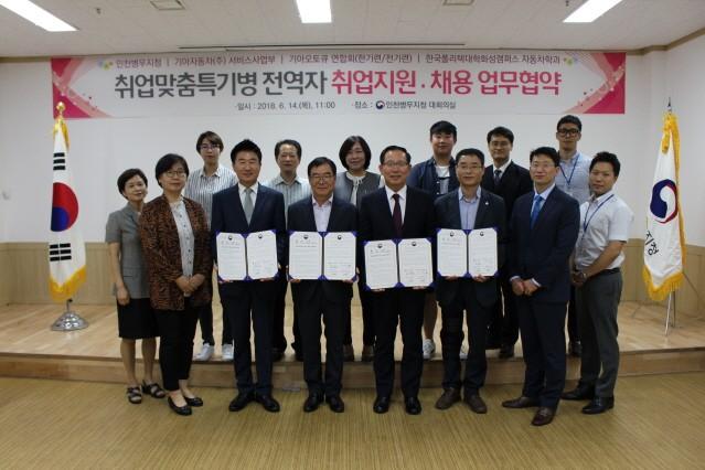 기아차-병무청, 정비기술 인력 양성 위한 업무 협약 체결
