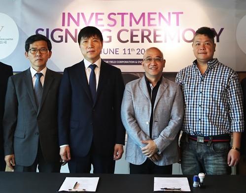 국내 무안경 3D 디스플레이 전문기업인 '오버다임'은 최근 세계적인 홍콩의 투자기업인 Star Yield와 500억원 규모의 투자계약을 체결했다고 18일 밝혔다. 사진=오버다임 제공