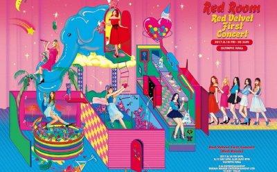 '키노(Kihno)로 만나는 레벨파워' 레드벨벳, 다음달 12일 첫 단콘 '레드룸' 키노비디오 발매