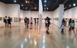 광주그린섬미술학원, '꿈-동행 전시회' 성료