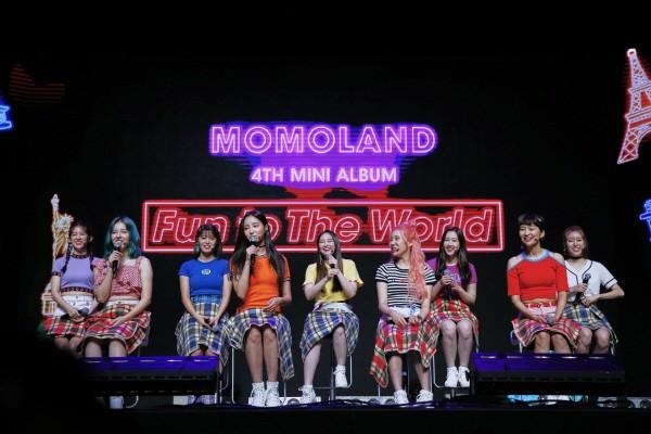 '2018 MOMOLAND COMEBACK Show-Con' 공연사진, 사진=MLD ENTERTAINMENT 제공