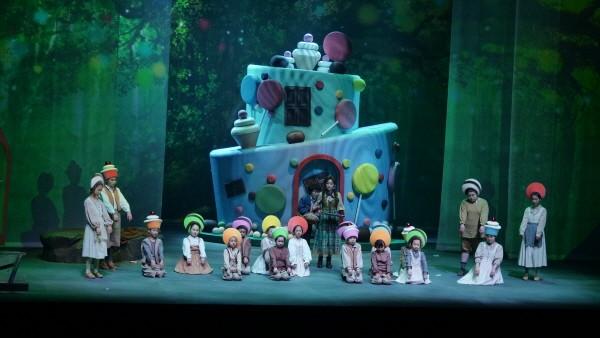 '헨젤과 그레텔' 공연사진, 사진=노블아트오페라단 제공