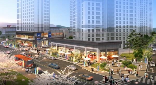 GS건설 광명 역세권에 선보이는 마지막 상업시설 '자이스트릿' 분양