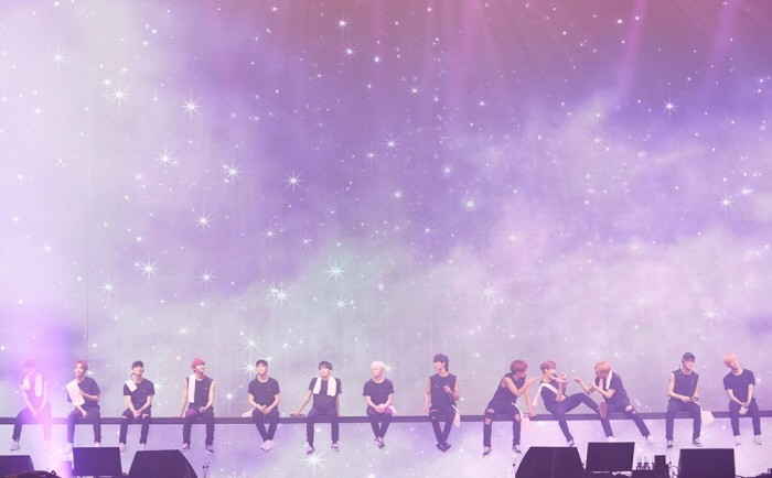 30일 오후 서울 송파구 잠실실내체육관에서는 세븐틴 단독콘서트 '2018 SEVENTEEN CONCERT-IDEAL CUT IN SEOUL' 3일차 공연이 열렸다. (사진=플레디스 엔터테인먼트 제공)
