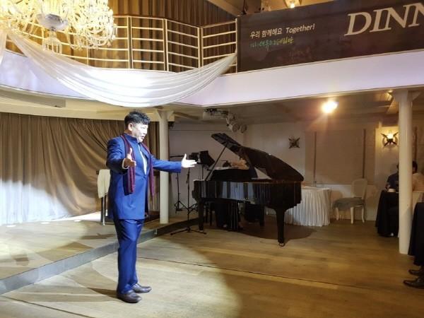 '더뮤즈오페라단 Dinner Concert' 공연사진, 사진=더뮤즈오페라단 제공