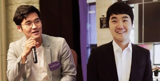 이광수 모비데이즈 마케팅사업본부 대표(왼쪽), 마케팅사업본부 조현호 그룹장.