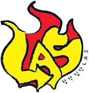 창작집단 LAS 로고. 사진=극단/소극장 산울림 제공
