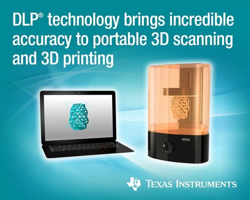 TI, 정확도∙속도 높이고 유연한 '3D 프린터∙휴대용 3D 스캐너'용 소형 폼팩터 컨트롤러 출시