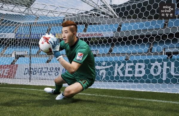 '월드컵 영웅' 조현우, 미쟝센 제품 활용한 3단계 헤어 연출법 공개