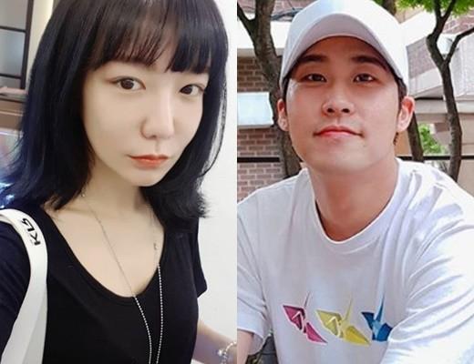 배우 신소율과 김지철 커플이 관심을 받고 있다. / 사진=신소율, 김지철 인스타그램