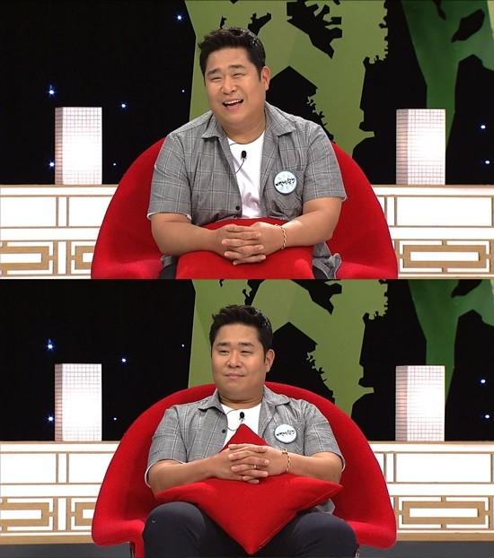 개그맨 문세윤이 치어리더 출신 아내와의 러브 스토리를 공개한다. / 사진=SBS 제공