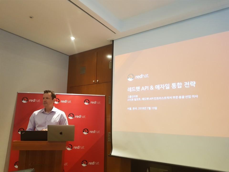 스티븐 윌모트 (Steven Willmott) 레드햇 API 인프라스트럭처 부문 총괄 선임 이사